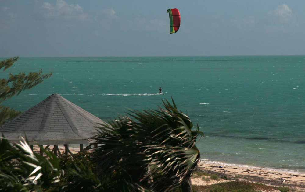 Kiteboarding at Caribbaway